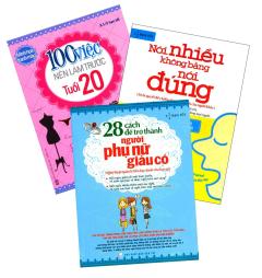 Combo 100 Việc Nên Làm Trước Tuổi 20 (Bộ 3 Cuốn)