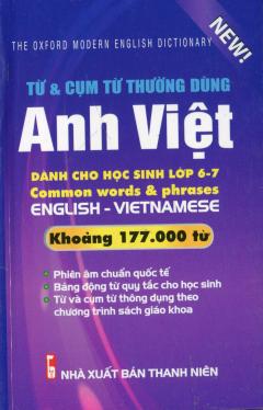 Từ & Cụm Từ Thường Dùng Anh Việt (Khoảng 177.000 Từ)