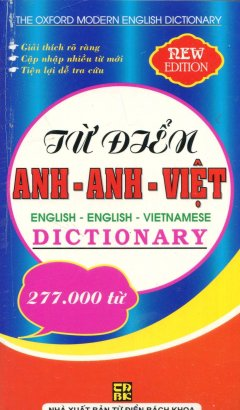 Từ Điển Anh - Anh - Việt (Khoảng 277.000 Từ)