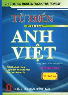 Từ Điển Anh - Việt (Khoảng 77.000 Từ)