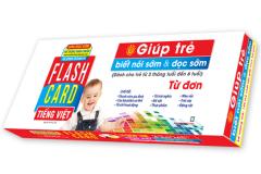 Flashcard Tiếng Việt - Giúp Trẻ Biết Nói Sớm & Đọc Sớm (Từ Đơn)