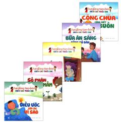 Combo Hạt Giống Tâm Hồn Dành Cho Thiếu Nhi - Bộ 5 Cuốn (Tặng Kèm 1 CD)
