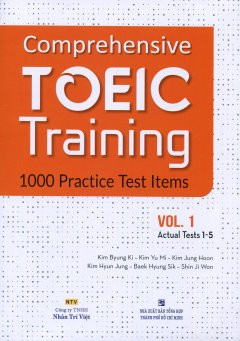 Comprehensive TOEIC Training - 1000 Practice Test Items (Vol.1) - Kèm 1 CD
