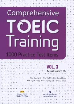 Comprehensive TOEIC Training - 1000 Practice Test Items (Vol.3) - Kèm 1 CD