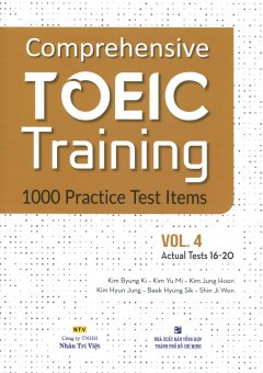 Comprehensive TOEIC Training - 1000 Practice Test Items (Vol.4) - Kèm 1 CD