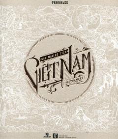 Sắc Màu Cổ Tích Việt Nam (Sách Tô Màu Dành Cho Người Lớn)
