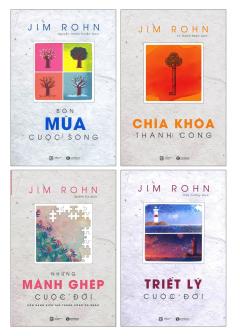 Bộ Sách Jim Rohn (Bộ 4 Cuốn)