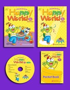 Happy World - Tiếng Anh Cho Trẻ Em - Bộ 2a
