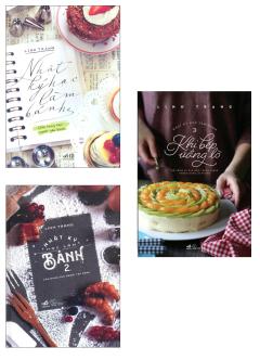 Combo Nhật Ký Học Làm Bánh (Bộ 3 Tập)