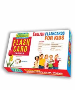 English Flashcards For Kids - Thẻ Thông Minh Chuẩn (Tặng Kèm VCD)