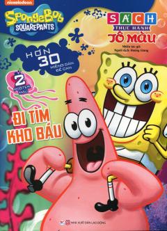 SpongeBob SquarePants - Đi Tìm Kho Báu (Sách Thực Hành Tô Màu)
