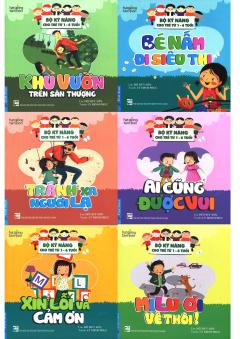 Bộ Kỹ Năng Cho Trẻ Từ 1-6 Tuổi (Bộ 6 Cuốn)