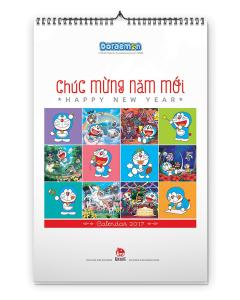 Lịch Tường Doraemon 2017
