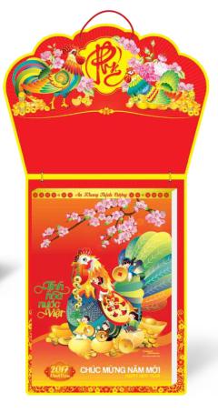 Lịch Block Siêu Cực Đại (29.5x41) - Tinh Hoa Nước Việt
