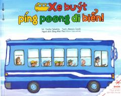 Ehon - Thực Phẩm Tâm Hồn Cho Bé - Xe Buýt Píng Poong Đi Biển!