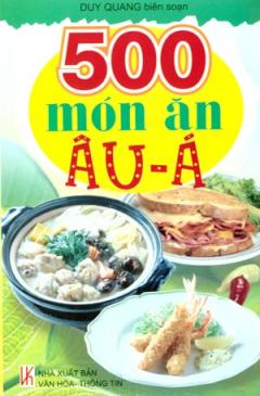 500 Món Ăn Âu - Á