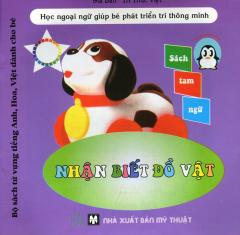 Bộ Sách Từ Vựng Tiếng Anh, Hoa, Việt Dành Cho Bé - Nhận Biết Đồ Vật