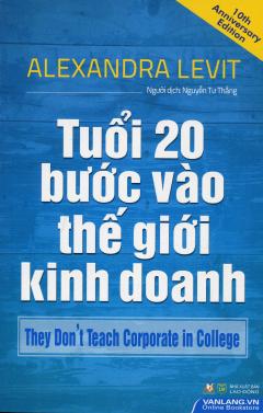 Tuổi 20 Bước Vào Thế Giới Kinh Doanh
