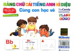 Thẻ Thông Minh - Bảng Chữ Cái Tiếng Anh Kì Diệu - Cùng Con Học Vẽ