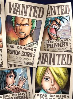 Sổ One Piece Khổ A6 - Quyển 3