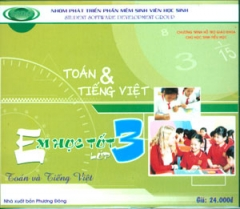 Đĩa CD - Toán Và Tiếng Việt - Em Học Tốt Lớp 3