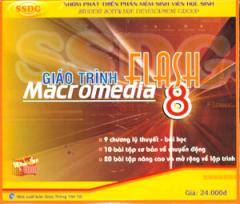 Đĩa CD - Giáo Trình Flash Macromedia 8
