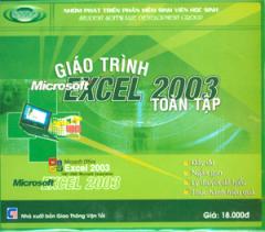 Đĩa CD - Giáo Trình Microsoft Excel 2003 Toàn Tập