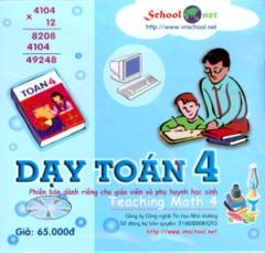 Đĩa CD - Dạy Toán 4 (Teaching Math 4) - Phiên Bản Dành Riêng Cho Giáo Viên Và Phụ Huynh Học Sinh