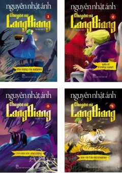 Combo Chuyện Xứ Lang Biang (Bộ 4 Tập) - Tặng Kèm Sổ Thần Chú