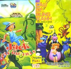 Jack Và Cây Đậu Thần - Cậu Bé Rừng Xanh (VCD - Phim Hoạt Hình)