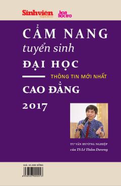 Cẩm Nang Tuyển Sinh Đại Học - Cao Đẳng 2017