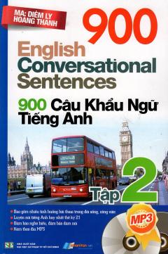 900 Câu Khẩu Ngữ Tiếng Anh - Tập 2 (Kèm 1 CD)