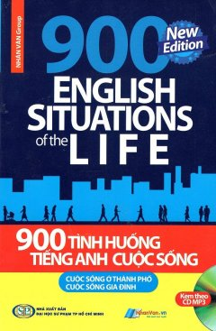 900 Tình Huống Tiếng Anh Cuộc Sống (Kèm 1 CD)