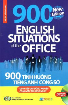900 Tình Huống Tiếng Anh Công Sở (Kèm 1 CD)