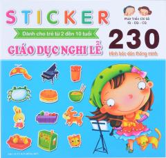 Sticker - Giáo Dục Nghi Lễ