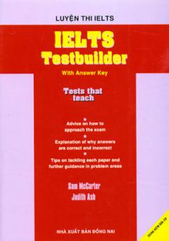 Luyện Thi Ielts - Ielts Testbuilder (Dùng Kèm 2 Đĩa CD)