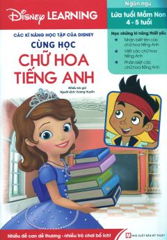 Các Kĩ Năng Học Tập Của Disney - Cùng Học Chữ Hoa Tiếng Anh