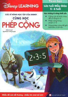 Các Kĩ Năng Học Tập Của Disney - Cùng Học Phép Cộng