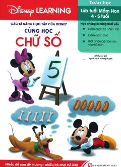 Các Kĩ Năng Học Tập Của Disney - Cùng Học Chữ Số