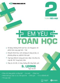 Em Yêu Toán Học - Tập 2 (Song Ngữ Anh - Việt)