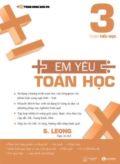Em Yêu Toán Học - Tập 3 (Song Ngữ Anh - Việt)