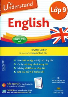 To Understand English - Lớp 9 (Kèm 1 CD)