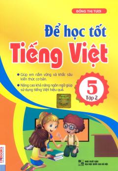 Để Học Tốt Tiếng Việt 5 - Tập 2