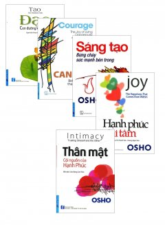 Combo Sách Của Tác Giả Osho (Bộ 5 Cuốn)