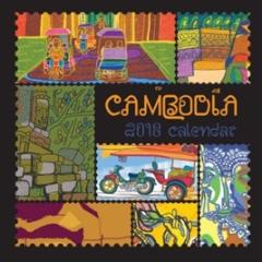 Lịch Bàn Chữ A 2018 - Cambodia