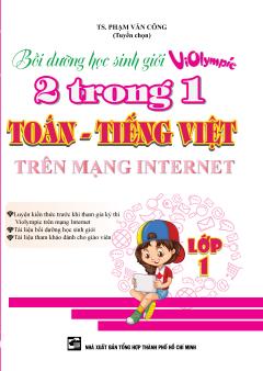 Bồi Dưỡng Học Sinh Giỏi Violympic 2 Trong 1 Toán - Tiếng Việt Trên Mạng Internet - Lớp 1