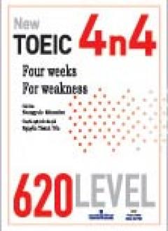 New Toeic 4n4 - 620 Level (Dùng Kèm 1 MP3)