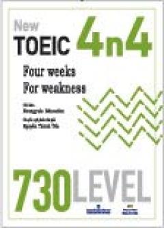 New Toeic 4n4 - 730 Level (Dùng Kèm 1 MP3)