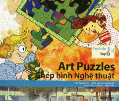 Art Puzzles - Ghép Hình Nghệ Thuật (Trình Độ 1 - Tập 6) - Kèm 1 CD