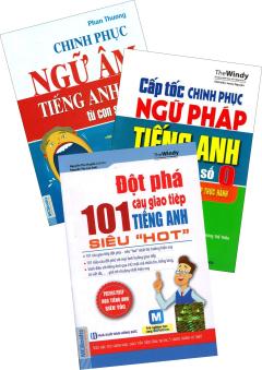 Combo Chinh Phục Ngữ Âm Tiếng Anh Từ Con Số 0 (Bộ 3 Cuốn)